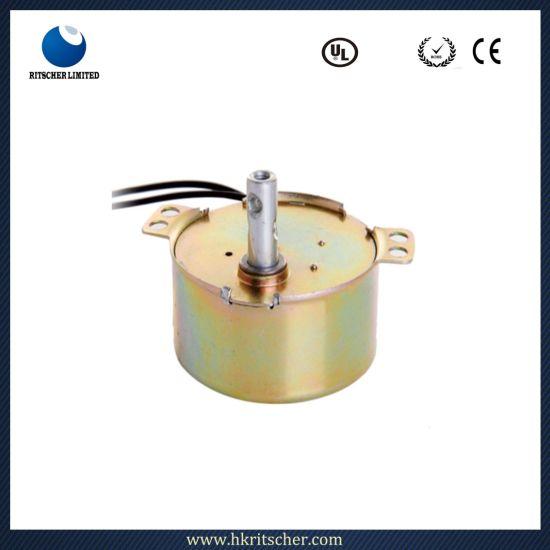 China High Torque Gear AC Small Stepper Motor for Fan