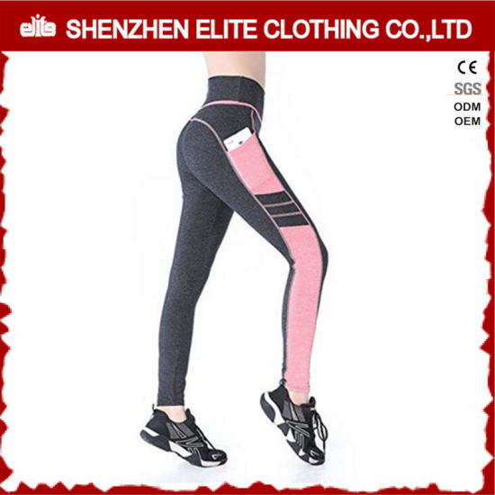 Custom High Quality Bulk Fitness Leggings with Pockets (ELTLI-126) pictures & photos