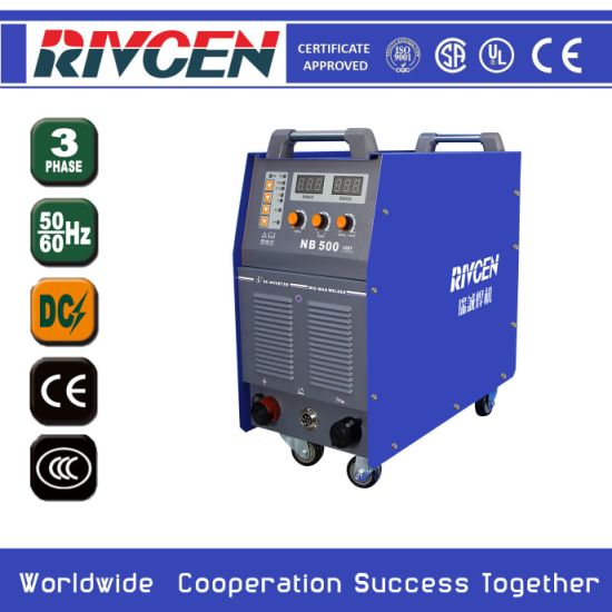 MIG500A Heavy Duty Industry Inverter Welding Machine IGBT Module Technology 100% Duty Cycle and High-Quality Products