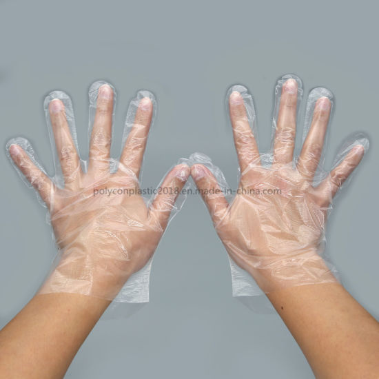 Food Grade Disposable Exam Gloves for Food Industry PE Gloves