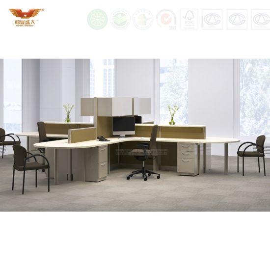 top quality office desk workstation. High Quality Office Furniture L Shape Workstations Modular Partition (HY-251) Top Desk Workstation D
