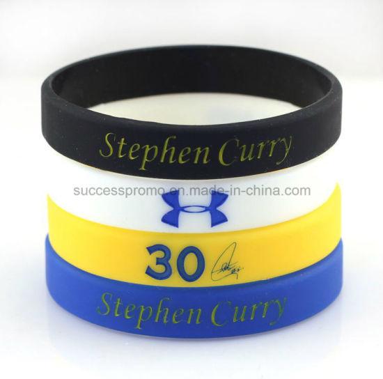 Promotional Silicone Bracelet Wristband with Customer Logo