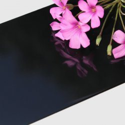 (ZWM-T832 Black Mirror) Aluminum Composite Panel Use for Externel Wall Decoration