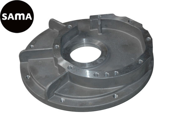 Aluminum Permanent Mold Gravity Casting for Flanges with Precision Machining pictures & photos