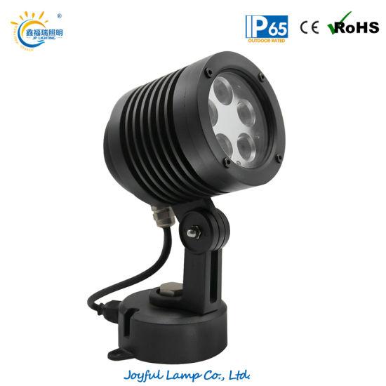 High Power LED Landscape Light Outdoor LED Lawn Light 5W 10W 15W 20W Flood Spot Light Aluminum RGB LED Garden Light with Anti-Glare Hood and Honeycomb Optional