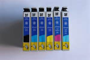Compatible Color Ink Cartridge T0821-T0856 for Epson 1390