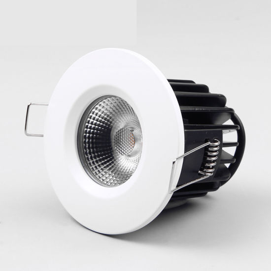 COB Lighting Fixture Recessed Cutout 68mm 10W Fire Rated LED COB Downlight