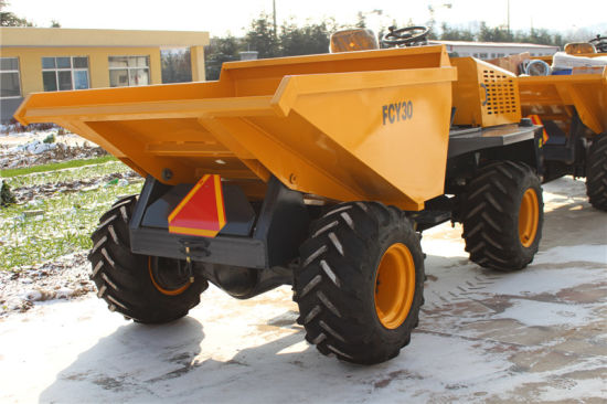 3tons Fruit Transport on Farm Mini Site Dumper pictures & photos