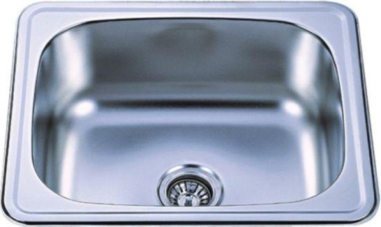Single Stainless Steel Kitchen Sink China single bowl top mount stainless steel kitchen sink kis6050b single bowl top mount stainless steel kitchen sink kis6050b workwithnaturefo
