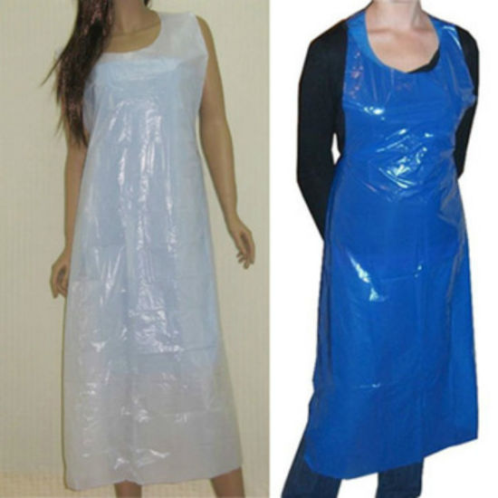 Printing Plastic Apron Disposable Poly Apron Cheap Price PE Apron pictures & photos