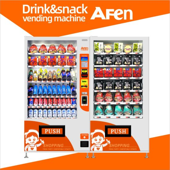 Afen China Refrigerated Automatic Combo Vending Machine Manufacturer