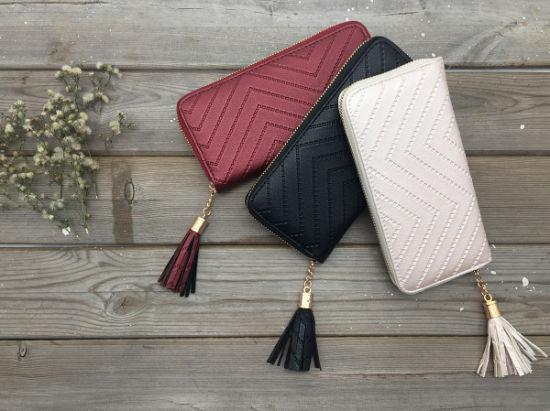 Fashion High Quality PU Leather Women Wallet Wt21