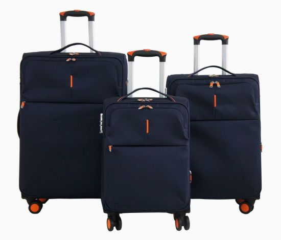Nylon Soft Trolley Case Luggage Bag Suitcase 1jb011 pictures & photos