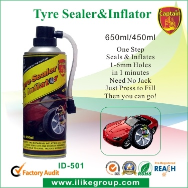 Fix Flat Tire Inflator (RoHS REACH SGS) pictures & photos