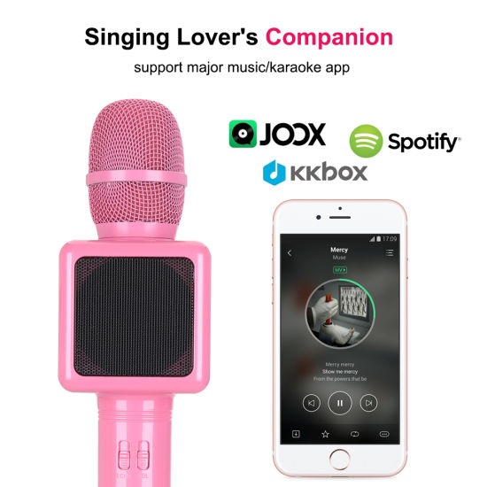 China Bluetooth Speaker with Mic for Singing - China