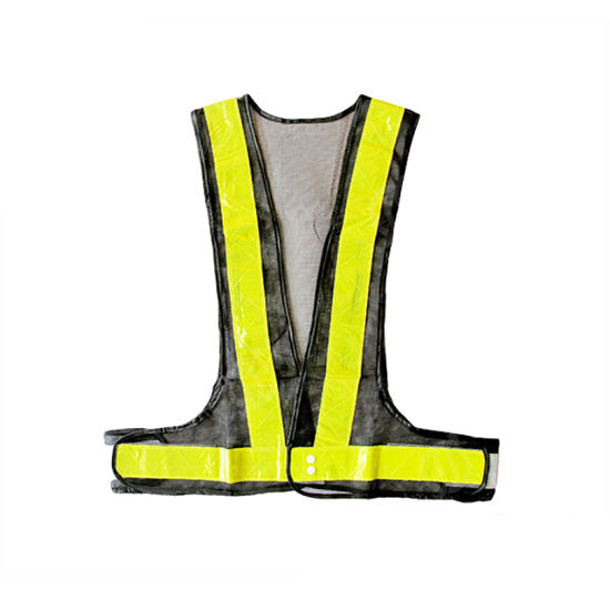Reflecting Warning Workwear Woven Fabric Safety Vests