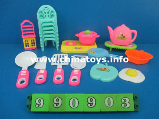 Hot Sale Kitchen Toys, Cooking Toy Set (204661) pictures & photos