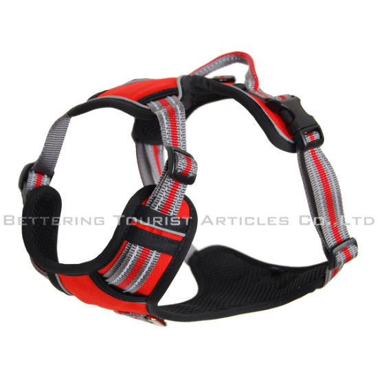 Quick Release Adjustable Reflective Dog Harness