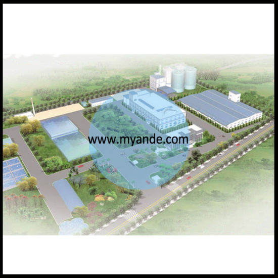 Complete Turnkey Corn Starch Processing Machine with ISO Approved