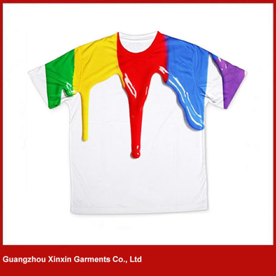 Custom Printing Kids T Shirts for Wholesale Child T-Shirts (R119)