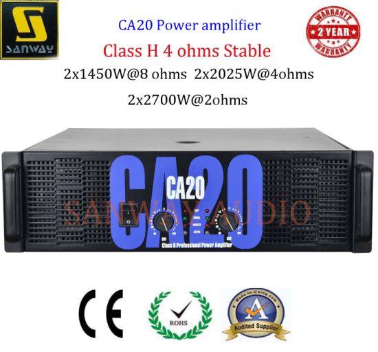 Class H Professional Crest Audio Ca20 Power Amplifier
