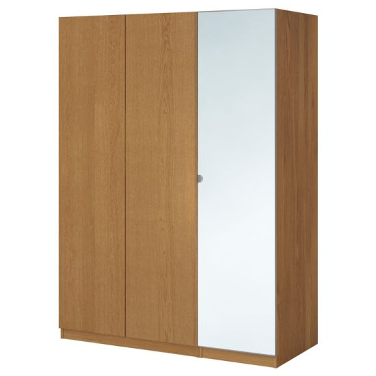 Factory Price High Quality 10 Year Guarantee Adjustable Easy Assemble Wardrobe Design with Mirror