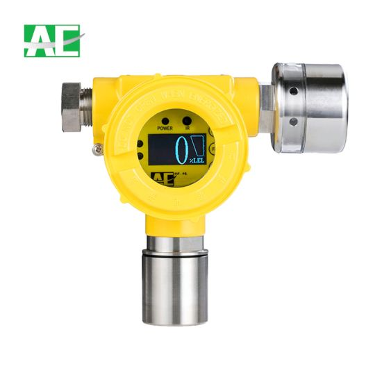 18-28VDC Fixed Gas Sensor for Detecting 0-1000ppm H2 with Remote Control