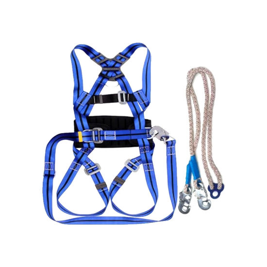 Safety Harness Parts Name Construction Fall Protection Equipment