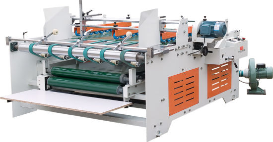 Double Pieces Two Side Gluing Conveyor Machine