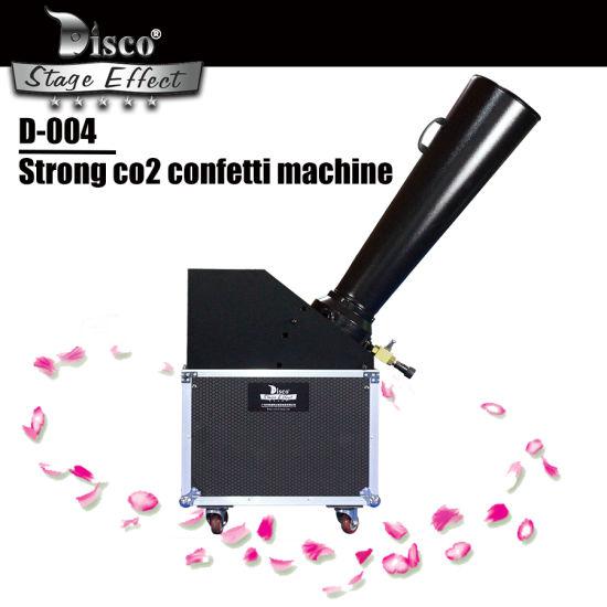 Large CO2 Paper Blaster Machine with Fight Case Confetti Cannon