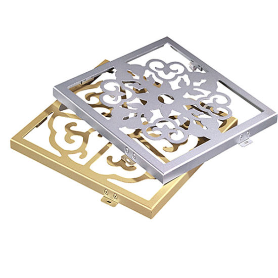 3.0mm Carved Aluminum Panel for Luxurious Hotels Decorative Wall Panel