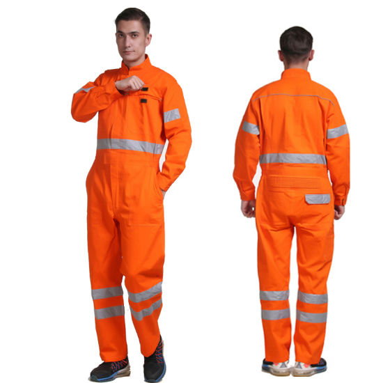 Cheap Safety Work Uniform with Your Own Logo