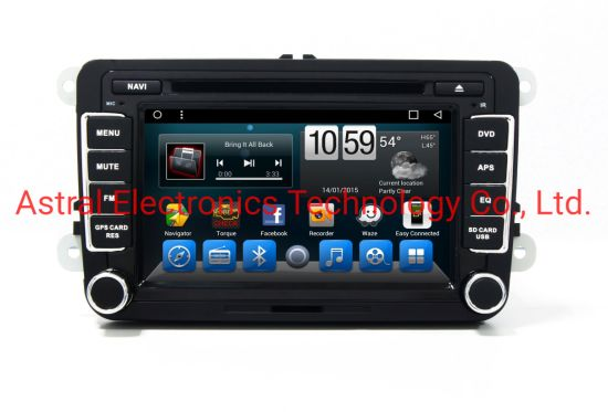 7-Inch Touch Screen Volkswagen Passat DVD Multimedia System with Bluetooth WiFi Autoradio GPS Navigation Carplay Mirror-Link