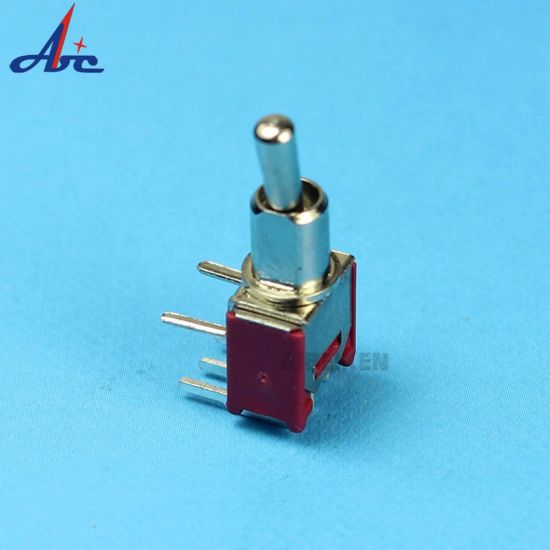 10 Pcs Blue Metal Plastic AC 250V 3A ON-ON 2 Position DPDT Mini Toggle Switch