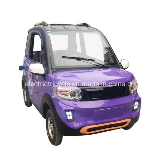 Pure Battery Power Vehicle Four Wheel Electric Cars for Adult Made in China