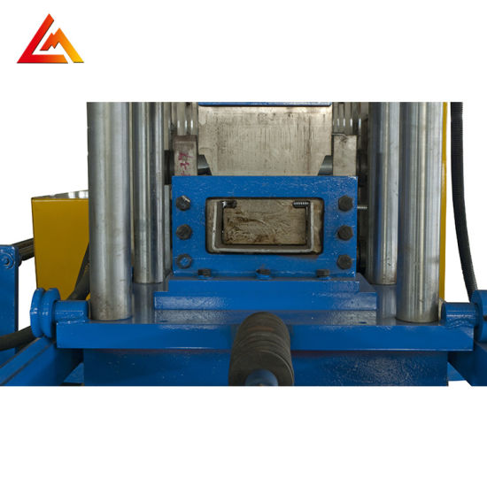 Quick Change Size Type C Purlin Sectional Shaped Keel Rail Deck Panel C Channel C Lip Roll Forming Machine