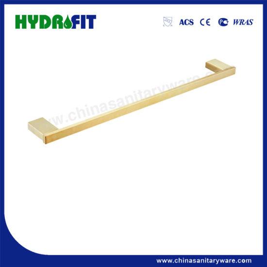 S. S304 Bathroom Accessories Golden Towel Shelf (BAS3498G)