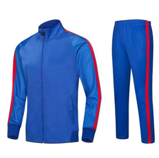 Wholesale Polyester Lycra Dry Fit Men's Track Suit Sportswear