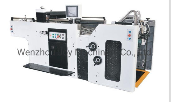 Jy Full Automatic 1020 Model Cylinder Screen Printing Machine for Wine Box