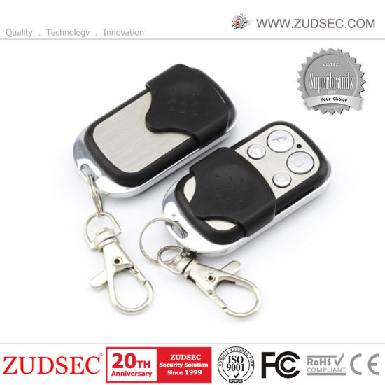 315Mhz//433MHz Wireless Metal Remote Controller For Home Securtity Alarm System
