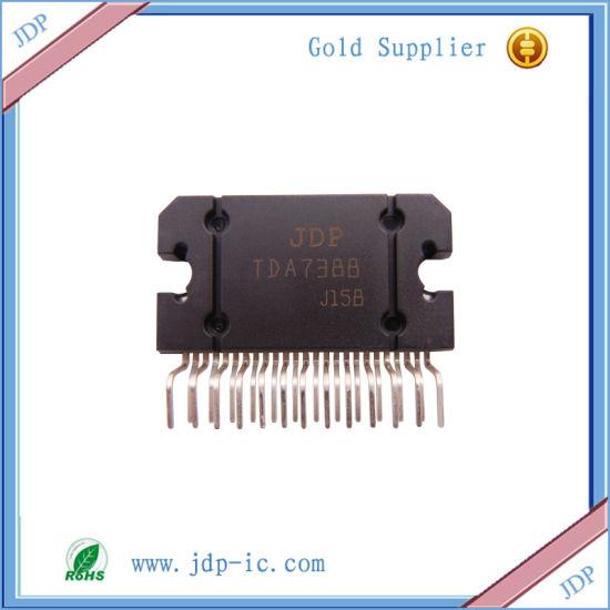 4 X 42W Quad Bridge Car Radio Amplifier Tda7388