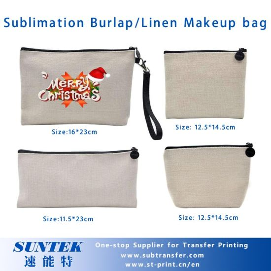 Sublimation Burlap Bagspencil Casecoin Pouch pictures & photos