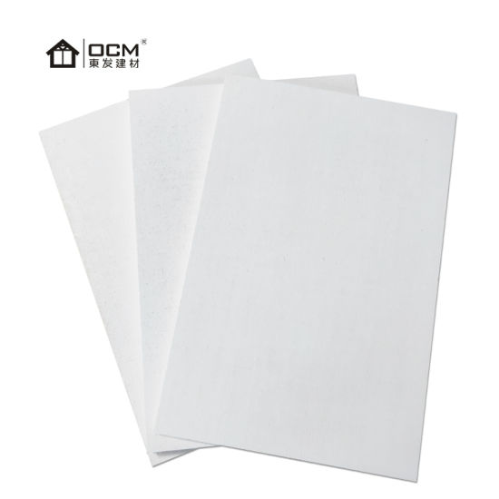 White Firewall Face Fire Resistant Board MGO Decorative