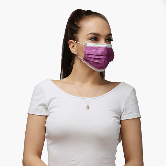 Fast Delivery Disposable 3-Ply Protective Non Woven Face Mask