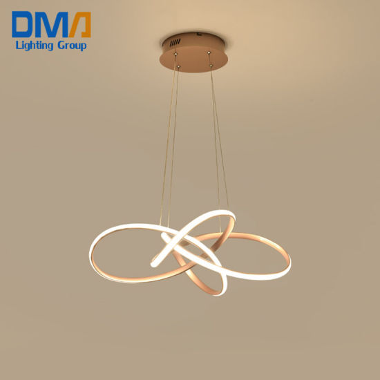 Factory Simple Modern Home Chandeliers Hotel Decorative LED Lighting Pendant Lamp