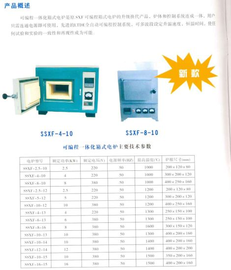 Shanghai Electrical Machinery Muffle Furnace pictures & photos