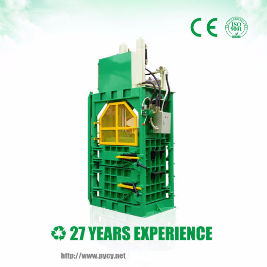 China Vertical Baler For Recycling From Bay Area Trash Compactor China Recycling Machine Packing Machine
