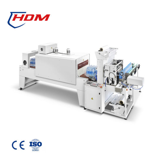 Automatic Pet Bottle Shrink Packager Thermal Shrink Packaging Machine