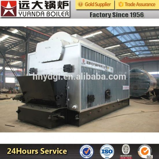 China Coal Fired Steam Boiler with Steam Turbine Used in Factroy ...