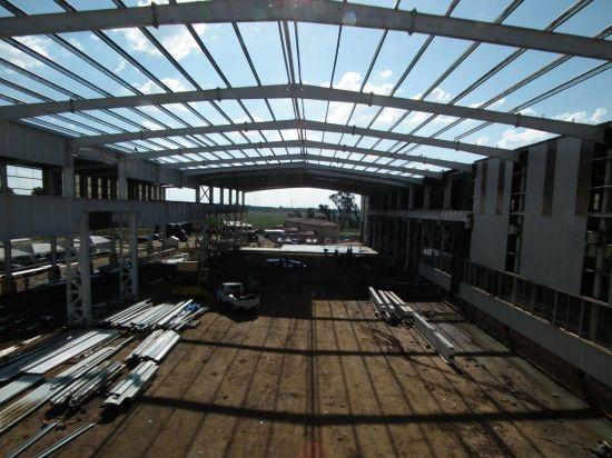 Prefab Steel Structure Workshop (SSW-568)